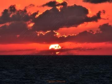 Dark Bahama sunset