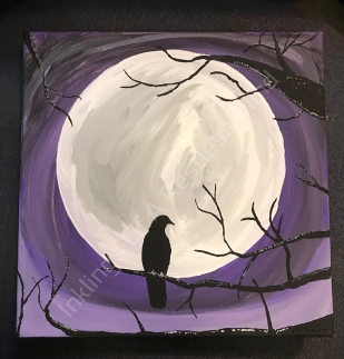 A Ravens moon
